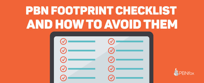 43 PBN Footprints Checklist and How to Avoid Them